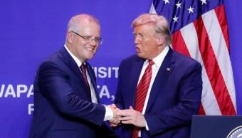 Foto: Scott Morrison y Donald Trump, 22 de septiembre de 2019, Estados Unidos