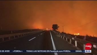 Foto: Incendios Baja California Mantiene Prealerta 28 Octubre 2019