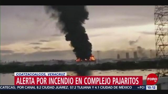 FOTO: Se registra incendio en complejo 'Pajaritos' de Coatzacoalcos, Veracruz, 6 octubre 2019