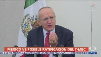 Seade: Avances en EU para ratificación del T-MEC