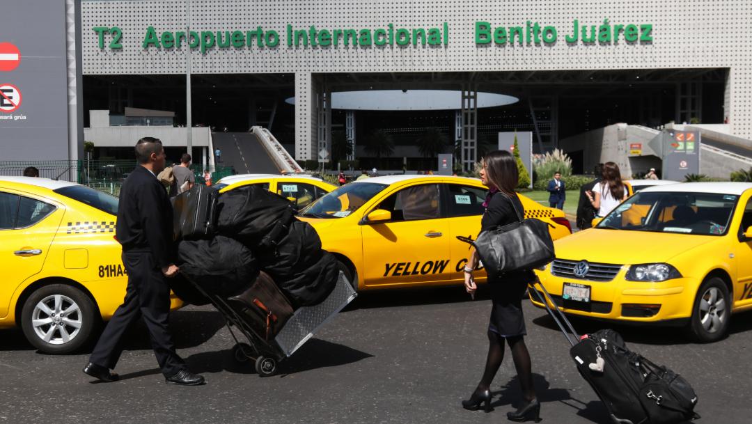 FOTO Segob y taxistas se reunirán de nuevo el lunes 14 de octubre (Cuartoscuro/Galo Cañas)