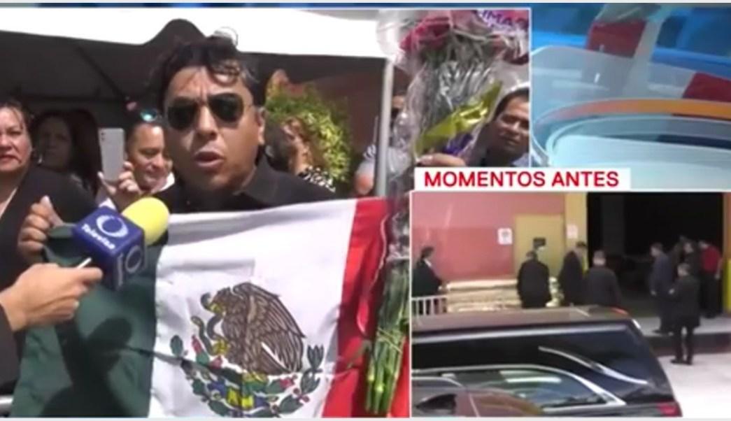 Foto: Fans suplican porque José José vuelva a México, 6 de octubre de 2019 (Foro TV)