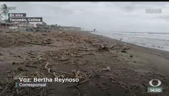FOTO: Seguirán Lluvias Fuertes Colima Por Ciclón Tropical 17-E