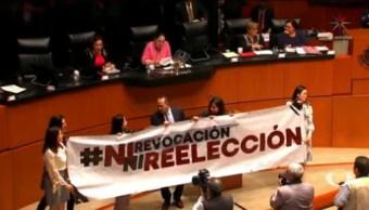 Foto: Senado Avala Reformas Consulta Popular Revocación Mandato 15 Octubre 2019