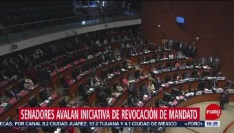 Foto: Senadores Aprueban Revocación Mandato 15 Octubre 2019