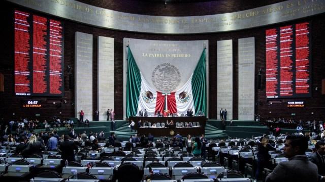 Sesión en la Cámara de Diputados