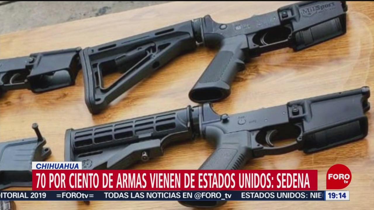 Foto: Armas México Llegan Procedentes Estados Unidos 15 Octubre 2019