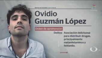 Foto: Solicitud Extradición Ovidio Guzmán Abril 2018 30 Octubre 2019