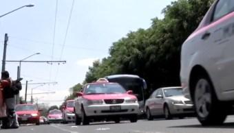 FOTO Taxistas CDMX que roban y secuestran, aumentan casos (Noticieros Televisa)