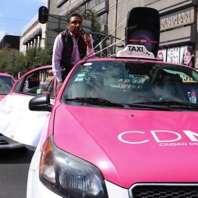 En redes sociales proponen boicotear a taxistas como respuesta a su marcha