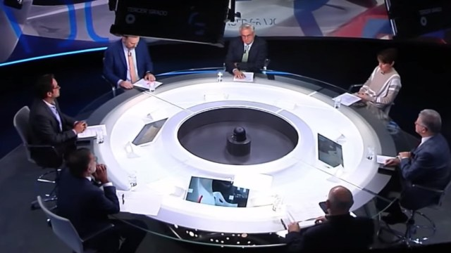 FOTO: Los periodistas hablaron sobre la liberación de Ovidio Guzmán.