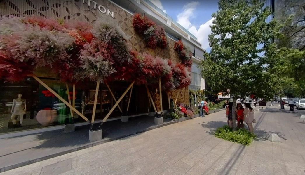Tienda Louis Vuitton en Polanco.