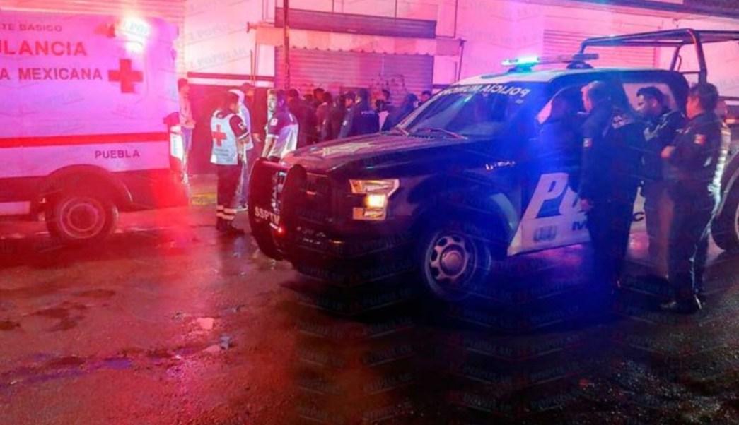 FOTO Tiroteo durante baile 'sonidero' en Amozoc, Puebla, deja 3 muertos (El Popular)