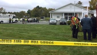 fOTO: Se registró un tiroteo en una iglesia de Pelham, en el estado de New Hampshire, 12 octubre 2019