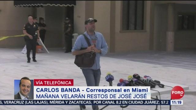 Todo listo para realizar tributo a José José en Miami