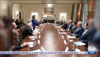 Trump y Pelosi se enfrentan en una reunión