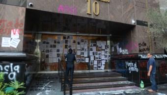 Foto: El edificio Fórum se ubica en la calle Andrés Bello número 10 en Polanco, 30 de octubre de 2019 (ARMANDO MONROY/CUARTOSCURO.COM)
