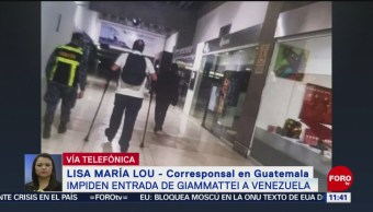 FOTO: Venezuela impide entrada a presidente electo de Guatemala, 12 octubre 2019