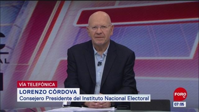Video: Entrevista completa con Lorenzo Córdova, presidente del INE, en Estrictamente Personal