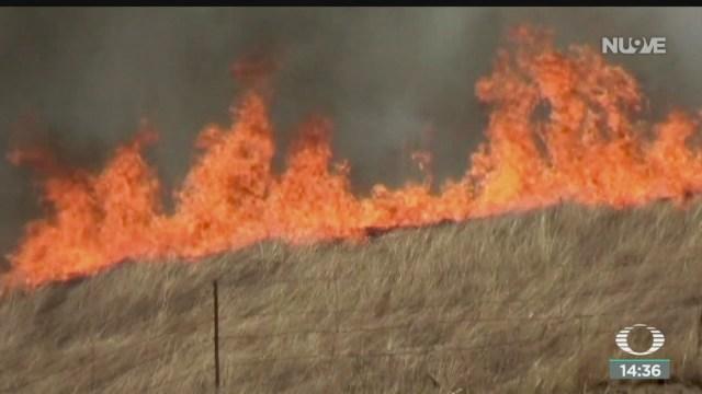 FOTO: Viento aviva incendios California
