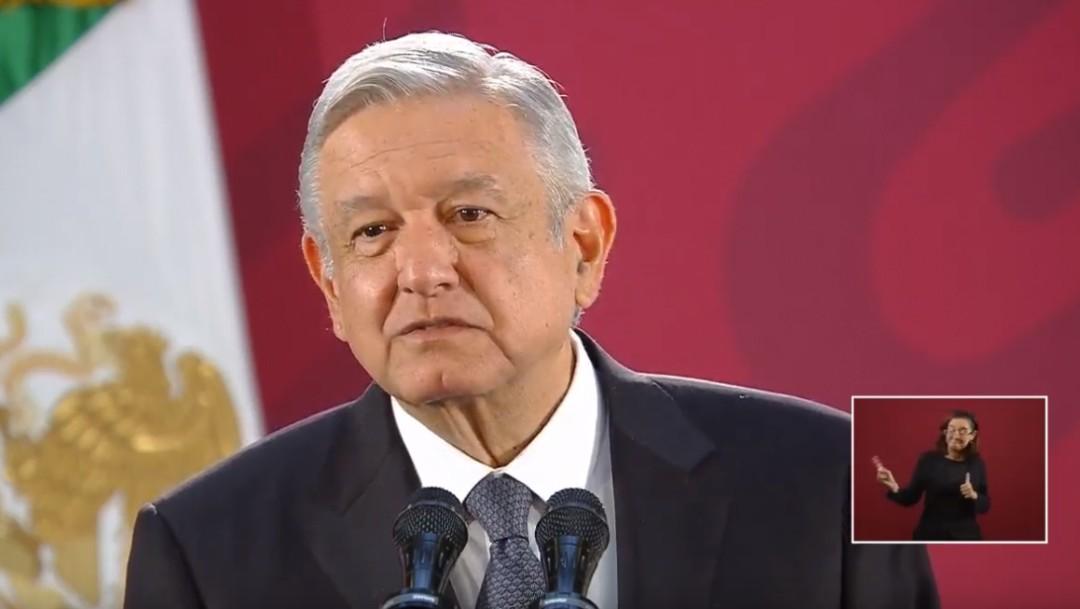 Foto: Andrés Manuel López Obrador, 7 de noviembre de 2019