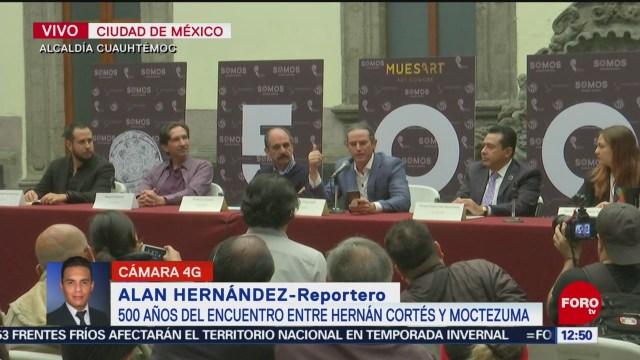500 años del encuentro entre Hernán Cortés y Moctezuma