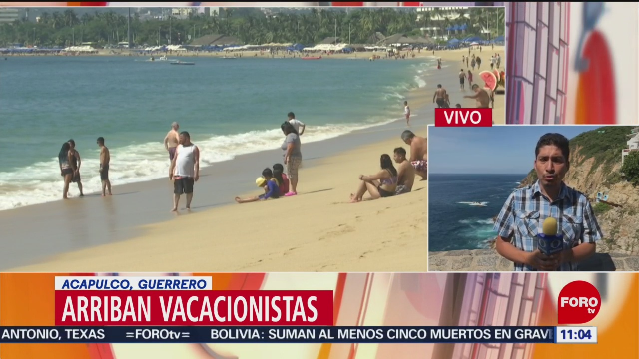 Acapulco espera una ocupación hotelera del 100% en el fin de semana largo - Noticieros Televisa