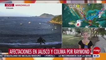 FOTO: Afectaciones en Jalisco y Colima por 'Rymond', 16 noviembre 2019