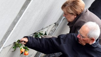 FOTO Alemania celebra 30 aniversario de caída Muro de Berlín