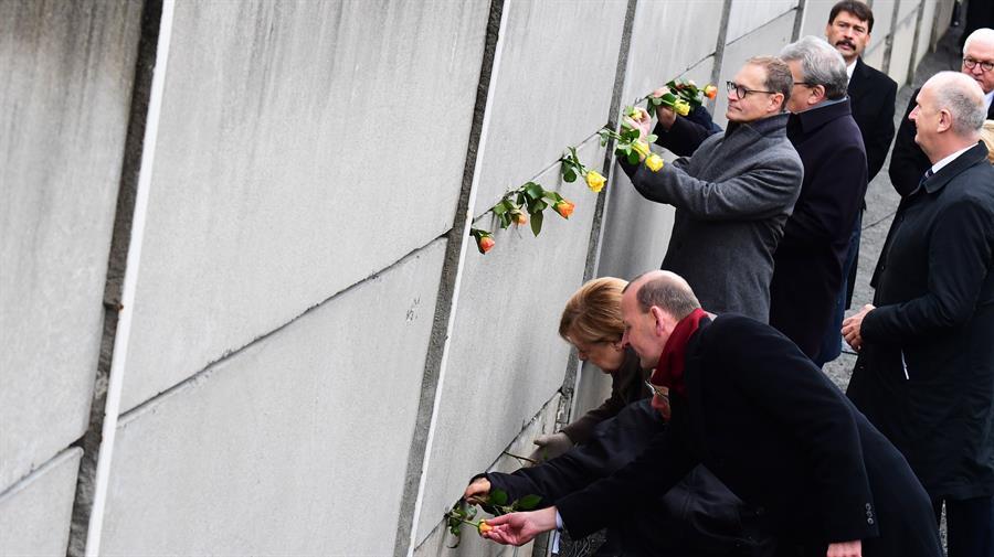 FOTO Alemania conmemora 30 aniversario de caída Muro de Berlín