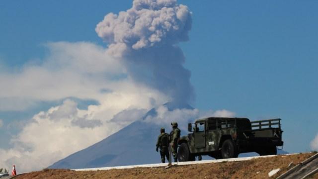 Alistan simulacro de evacuación por Popocatépet en Puebla