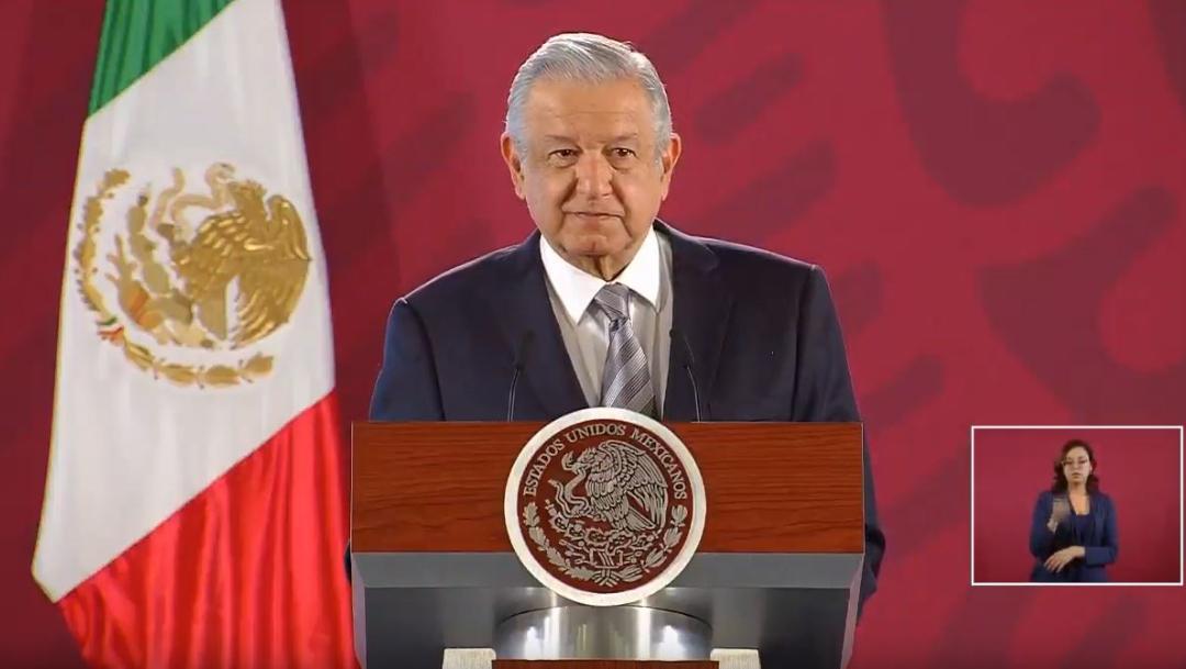 fOTO: El presidente de México, Andrés Manuel López Obrador, ofrece su conferencia de prensa matutina., 22 NOVIEMBRE 2019