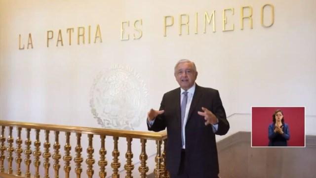 El presidente de México, Andrés Manuel López Obrador, reiteró su invitación al Zócalo de la Ciudad de México, 27 noviembre 2019