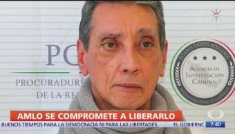 AMLO se compromete a liberar a Mario Villanueva