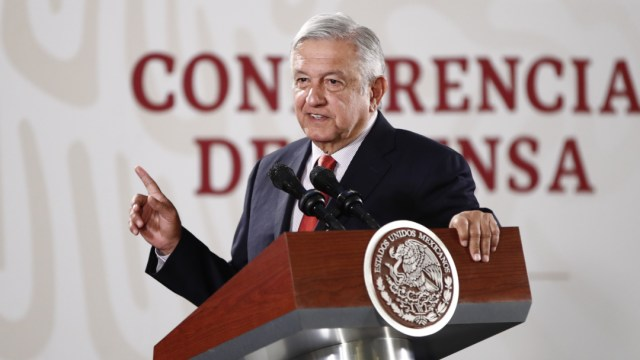 FOTO Andrés Manuel López Obrador, presidente de México (EFE)