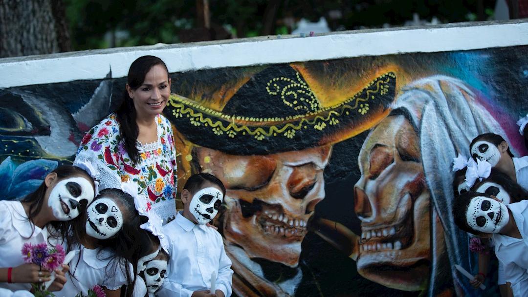 Foto: Cientos de ánimas deambularan por el cementerio y calles de Mérida, Yucatán, 1 noviembre 2019