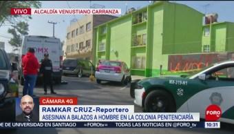 FOTO: Asesinan a balazos a un hombre en colonia Penitenciaría, 10 noviembre 2019