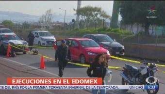 Asesinan a escolta de un tráiler en Edomex