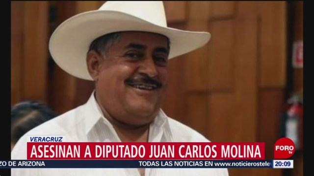 FOTO: Asesinan al diputado Juan Carlos Molina Palacios en Veracruz, 9 noviembre 2019
