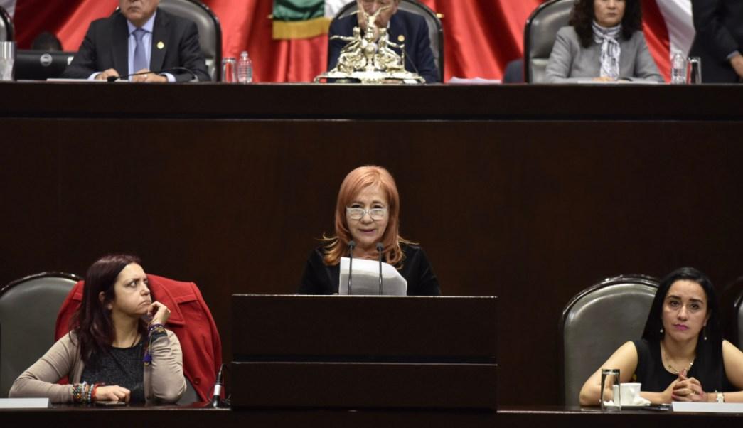 Rosario Piedra Ibarra, nueva presidenta de la CNDH. (MARIO JASSO /CUARTOSCURO, ARCHIVO)
