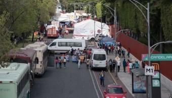 FOTO Presupuesto es para el pueblo, no organizaciones intermediarias, dice AMLO ; en la imagen, bloqueo en Cámara de Diputados (Cuartoscuro/Mario Jasso)