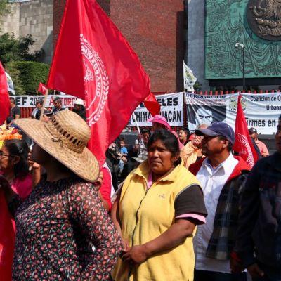 Cancelan sesión en la Cámara de Diputados por bloqueo de campesinos