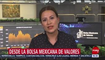 FOTO: Bolsa Mexicana se mantiene estable pese tensión comercial EEUU-China,