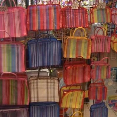 Sin plástico, reviven bolsas artesanales en Mercado de Jamaica