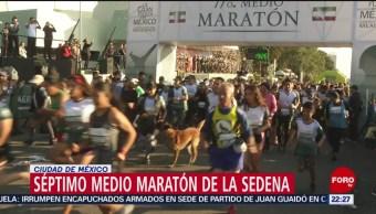 FOTO:Campo Militar es sede del medio maratón de la SEDENA, 17 noviembre 2019