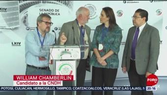 FOTO: Candidatos a la CNDH piden reponer proceso de elección, 11 noviembre 2019