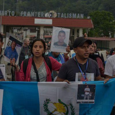 Caravana de madres de migrantes desaparecidos llega a Chiapas