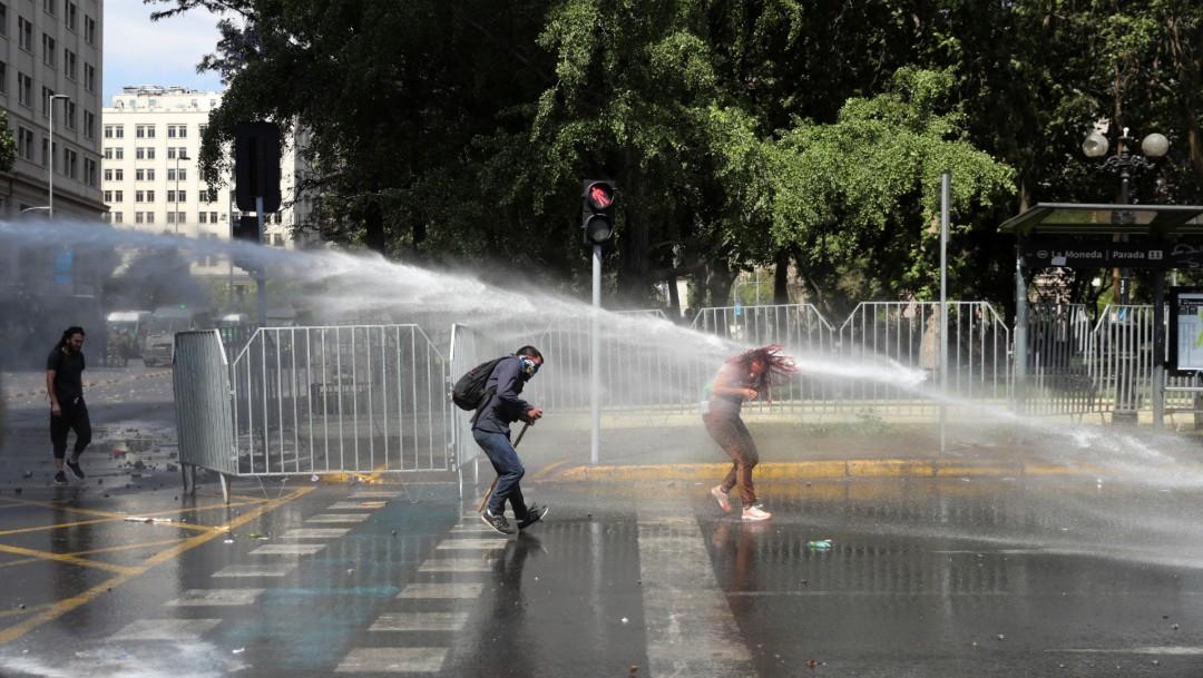Foto: Chile cumple 26 jornadas de movilizaciones con paro general