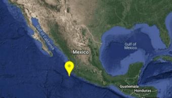 Foto: Reportan sismo en Cihuatlán, Jalisco, 3 de noviembre de 2019 (SSN)