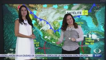 Clima Al Aire: Bajas temperaturas en gran parte de México